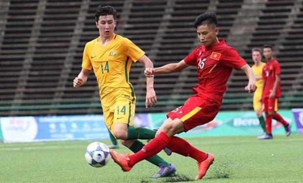 Australia vence a Vietnam en ronda eliminatoria de Campeonato regional sub 18 de futbol hinh anh 1