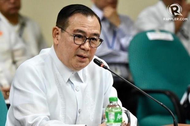 Protesta Filipinas contra la presencia de barcos chinos en su zona economica exclusiva hinh anh 1