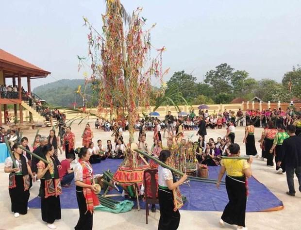Celebraran festival de etnias minoritarias en region del noroeste de Vietnam hinh anh 1
