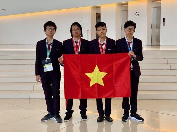 Vietnam ocupa cuarto lugar en Olimpiada Internacional de Informatica hinh anh 1