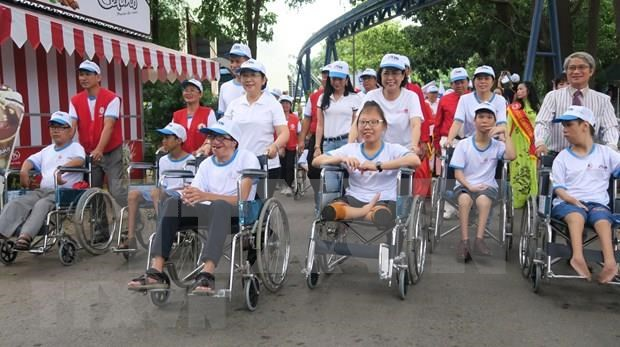 Vietnam continua actividades a favor de victimas de Agente Naranja hinh anh 1