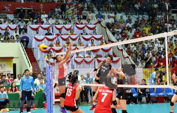 Club japones gano Torneo de Balonmano Femenino de Television Nacional de Vietnam hinh anh 1