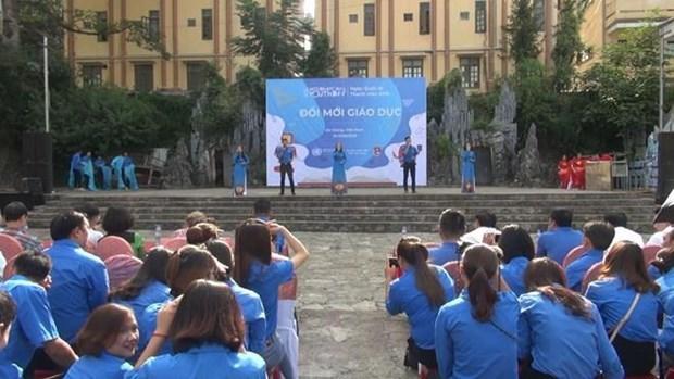 Conmemoran en provincia vietnamita Dia Internacional de la Juventud hinh anh 1
