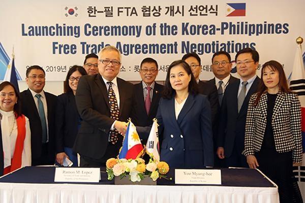 Continuaran Corea del Sur y Filipinas negociaciones sobre TLC esta semana hinh anh 1