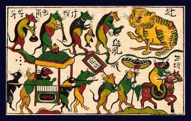 Solicitara Vietnam reconocimiento de pintura folclorica como patrimonio intangible hinh anh 1