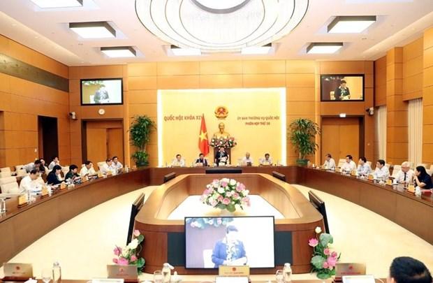 Inauguran reunion 36 del Comite Permanente del Parlamento de Vietnam hinh anh 1