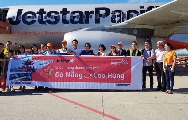 Abre aerolinea vietnamita nueva ruta entre ciudades de Da Nang y Kaohsiung hinh anh 1
