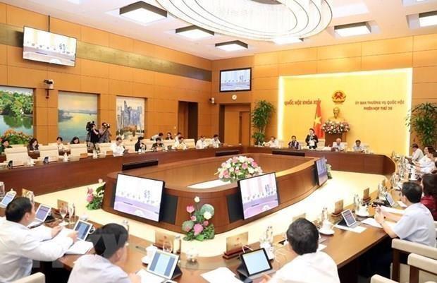 Analiza el Comite Permanente del Parlamento de Vietnam modificacion de la Ley de Auditoria Estatal hinh anh 1