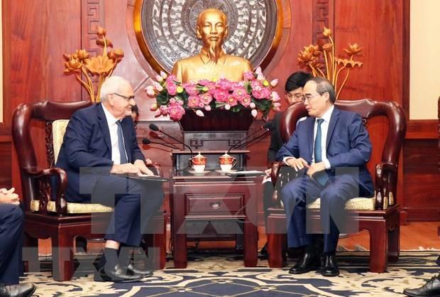 Propone Ciudad Ho Chi Minh apoyo de Corporacion Financiera Internacional hinh anh 1