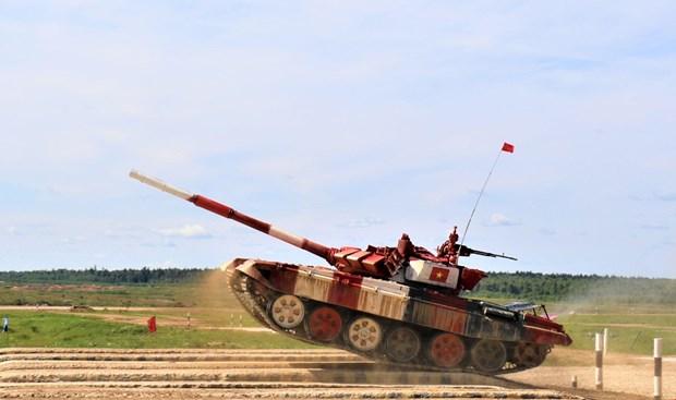 Reconoce prensa de Rusia resultados de Vietnam en Juegos Militares Internacionales hinh anh 1
