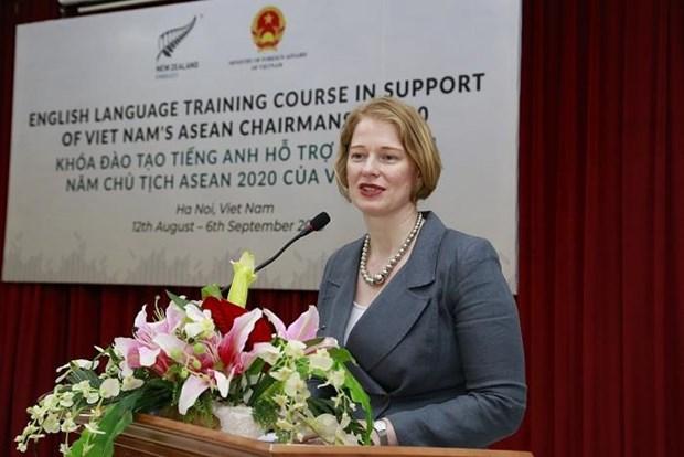 Asiste Nueva Zelanda a Vietnam en preparativos para la presidencia de ASEAN en 2020 hinh anh 1