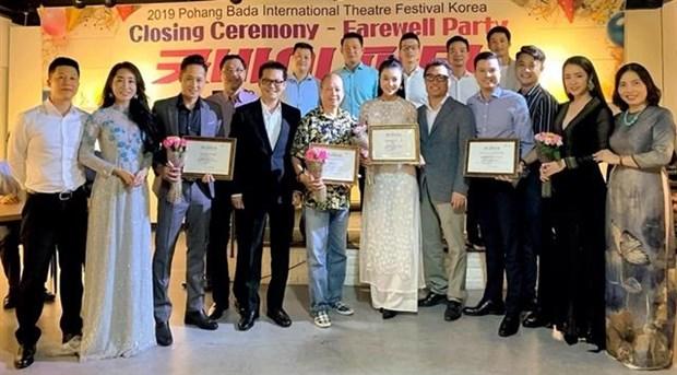 Obtiene Vietnam importantes premios en Festival de Teatro en Corea del Sur hinh anh 1