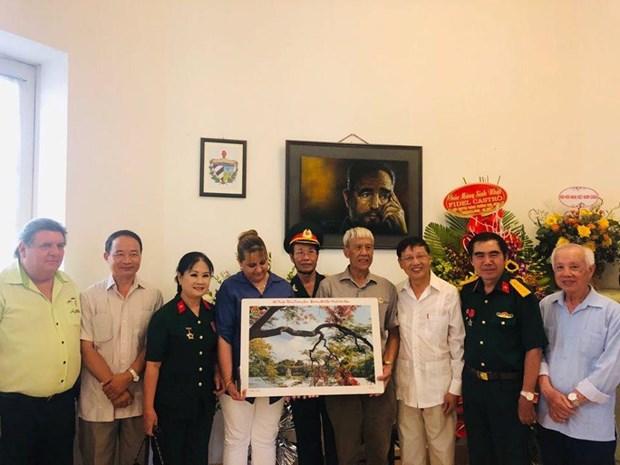 Conmemoran en Vietnam nacimiento del lider cubano Fidel Castro hinh anh 1