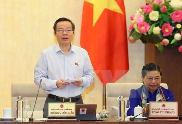 Analiza Comite Permanente del Parlamento de Vietnam borrador de Ley Bursatil hinh anh 1