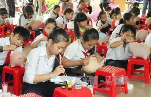 5,6 por ciento de ninos vietnamitas son posibles victimas del trafico de personas hinh anh 1
