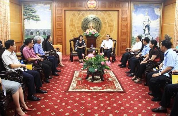 Brinda vicepresidenta vietnamita apoyo a victimas de tormenta en provincia de Thanh Hoa hinh anh 1