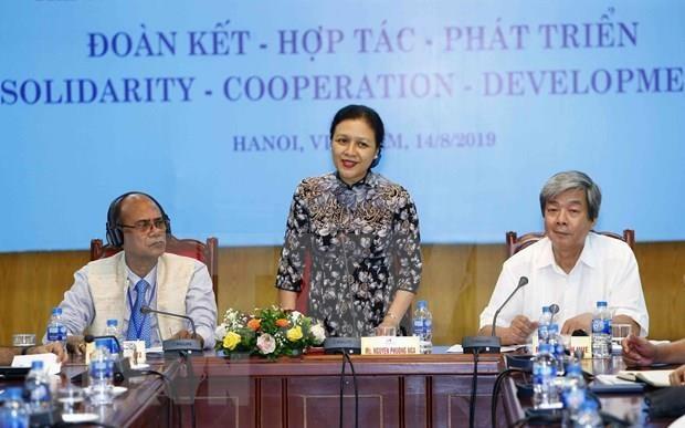 Fortalecen Vietnam e India lazos de cooperacion y de amistad hinh anh 1
