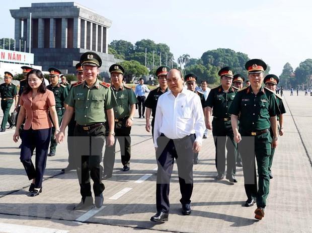 Reabriran manana Mausoleo de Ho Chi Minh a visitantes hinh anh 1
