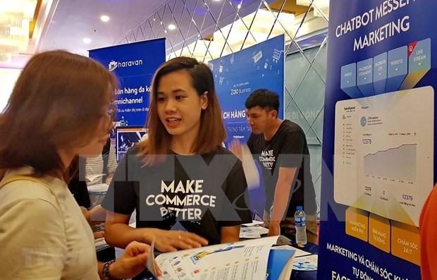 Debaten en Hanoi medidas para impulsar marketing en linea hinh anh 1