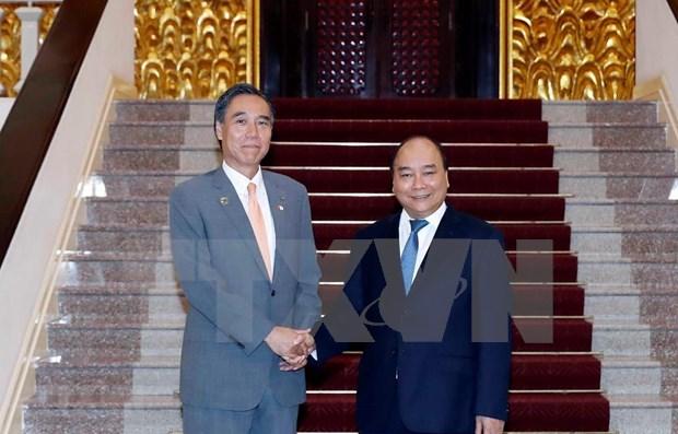 Recibe premier vietnamita al gobernador de prefectura japonesa de Nagano hinh anh 1