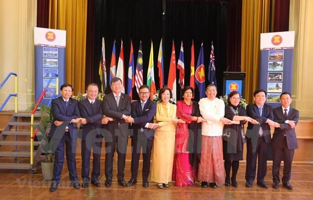 Celebran en Australia el aniversario 52 de la fundacion de la ASEAN hinh anh 1