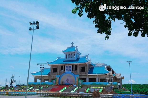Alrededor de 80 mil feligreses asisten al Festival religioso de La Vang en Vietnam hinh anh 1