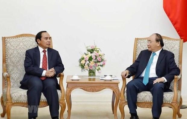 Vietnam dispuesto de cooperar con Laos en trabajo de inspeccion hinh anh 1