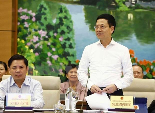 Comite Permanente de Parlamento vietnamita indaga sobre garantias de ciberseguridad hinh anh 1