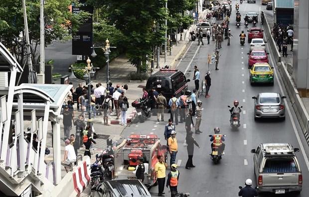 Capturan a sospechosos autores de atentados con bombas en Bangkok hinh anh 1