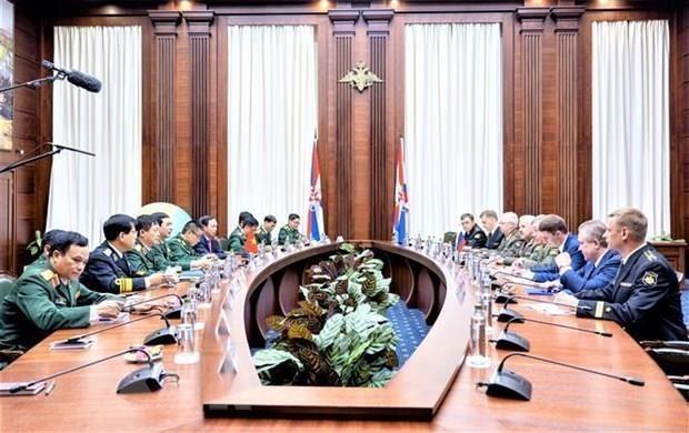 Fortalecen Vietnam y Rusia sus relaciones en defensa hinh anh 1