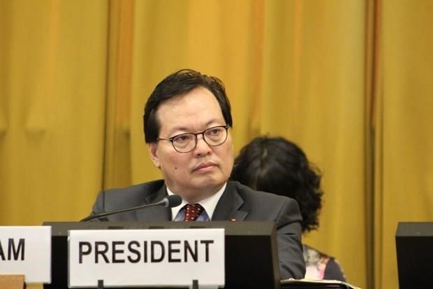 Resaltan exitoso empeno de Vietnam como presidente de Conferencia de Desarme 2019 hinh anh 1