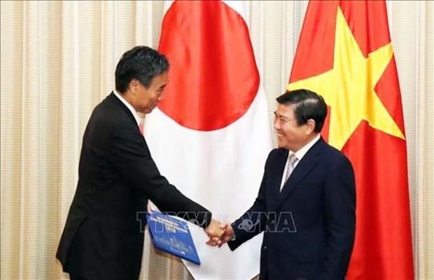 Intensifica Ciudad Ho Chi Minh cooperacion multifacetica con prefectura japonesa de Nagano hinh anh 1