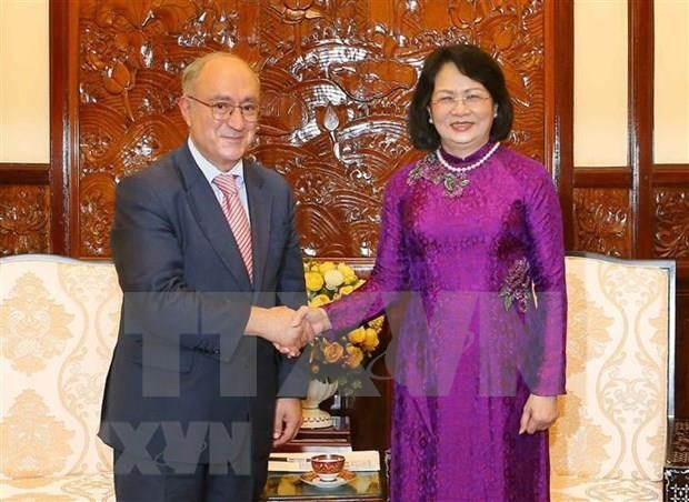 Aboga vicepresidenta de Vietnam por impulsar cooperacion educativa con Alemania hinh anh 1