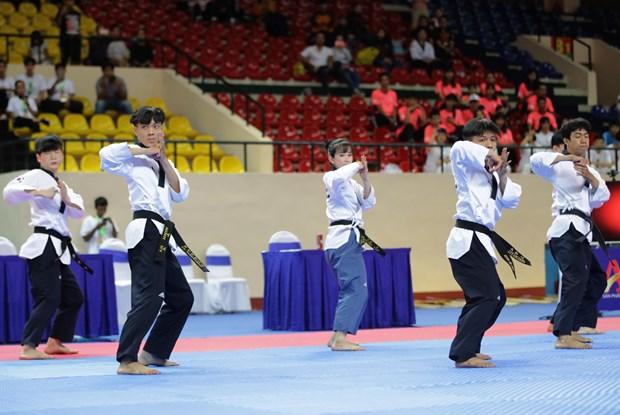 Celebran en Vietnam segundo Campeonato Abierto Asiatico de Taekwondo hinh anh 1