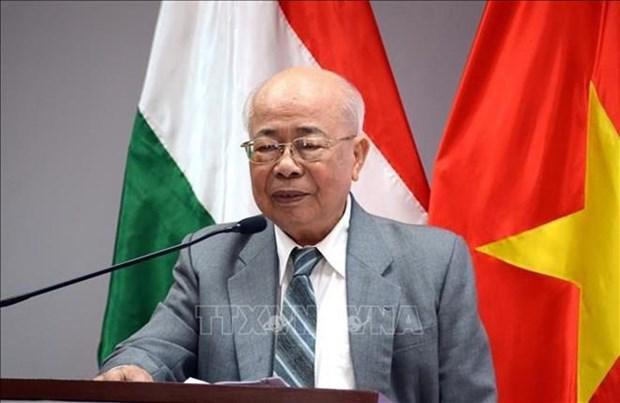 Celebran en Ciudad Ho Chi Minh el Dia Nacional de Hungria hinh anh 1