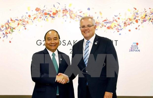 Elevara la visita de primer ministro australiano a Vietnam asociacion estrategica bilateral hinh anh 1