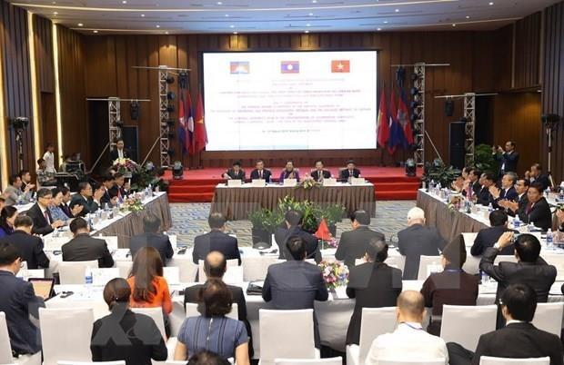 Destacan papel parlamentario en cooperacion en el Area del Triangulo de Desarrollo Camboya-Laos-Vietnam hinh anh 1