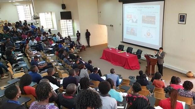Destacan en Mozambique politica exterior de Vietnam hinh anh 1