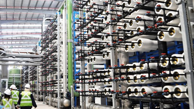 Instalaran en Singapur multimillonario alcantarillado subterraneo de alta velocidad hinh anh 1