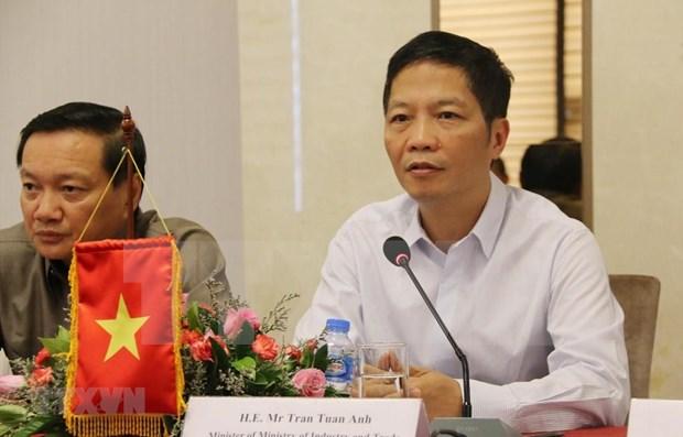 Vietnam y Laos robustecen colaboracion en desarrollo industrial hinh anh 1