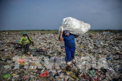 Aplica Indonesia doble solucion para residuos plasticos y atasco hinh anh 1