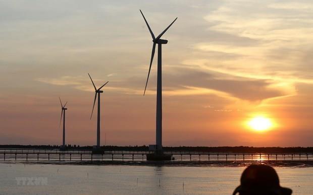 Provincia costera vietnamita atrae inversiones para desarrollo de energia eolica hinh anh 1
