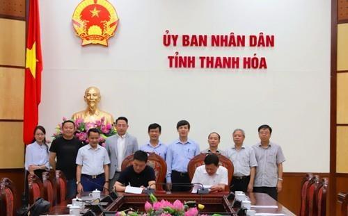 Construira grupo hongkones importante aceria en provincia vietnamita de Thanh Hoa hinh anh 1