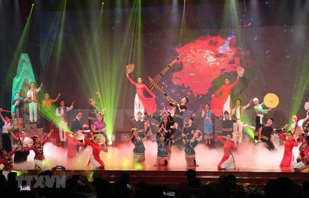 Celebran en Vietnam Festival Cultural de grupos etnicos en el Noroeste del pais hinh anh 1
