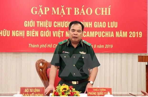 Estrechan colaboracion tropas guardafronteras de Vietnam y Camboya hinh anh 1
