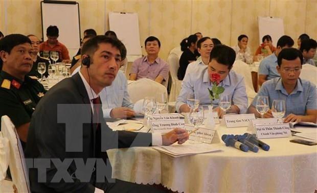 Ofrecen en Vietnam asistencias a discapacitados afectados por agente naranja hinh anh 1