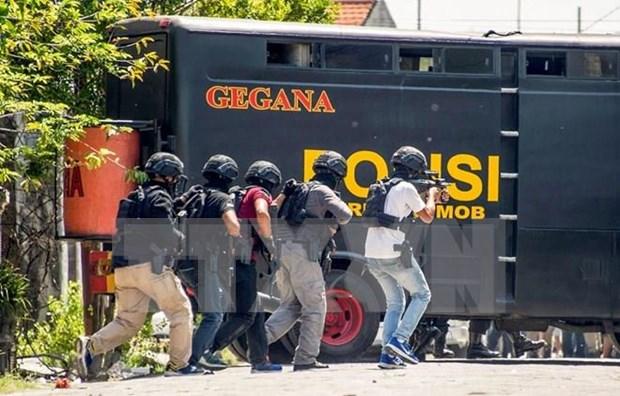 Detienen en Indonesia a un presunto extremista islamico en Dia de la Independencia hinh anh 1