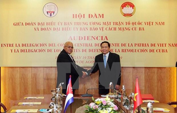 Reitera Vietnam apoyo a lucha de Cuba contra bloqueo economico hinh anh 1