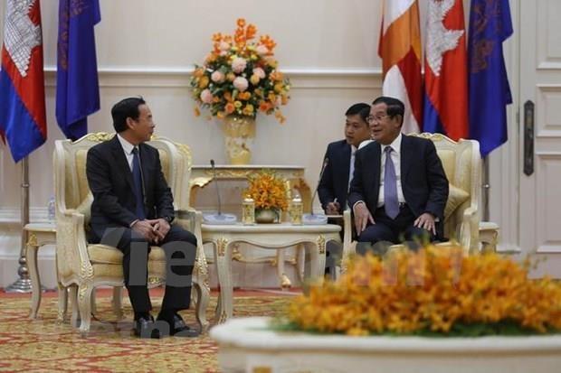 Delegacion de alto nivel del Partido Comunista de Vietnam visita Camboya hinh anh 1