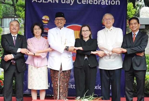 Celebran en Mexico el 52 aniversario de la fundacion de la ASEAN hinh anh 4